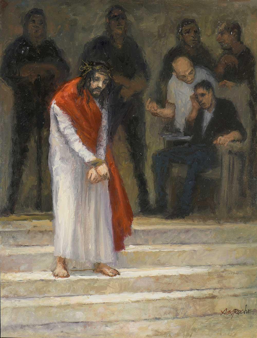 Esquisse Jésus est condamné à mort
