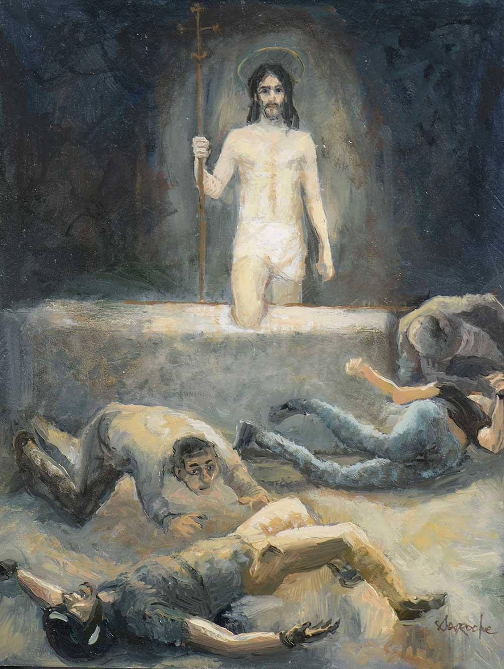 Esquisse est ressuscité des morts