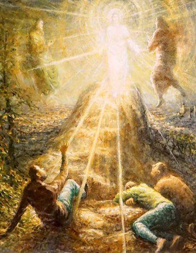 Transfiguration peinture